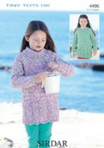 Amazing Sirdar Snuggly Tiny Tots Double Knit - Knitting Patterns